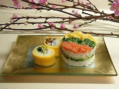 ひな祭りのミニお寿司