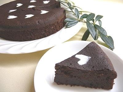 リキュールたっぷりチョコレートケーキ