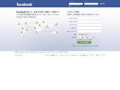登録者数6億人を越える世界一のSNS、Facebook