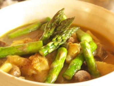 春野菜のカレー
