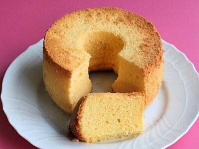 簡単!失敗しない米粉のシフォンケーキ