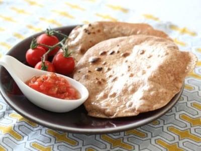 全粒粉薄焼きパンチャパティのレシピ・作り方!カレーやインド料理に