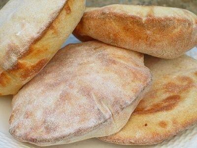 ピタパンのレシピ!おいしいポケットパンの作り方