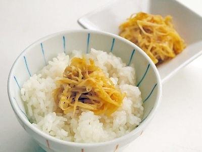 生姜の漬物かつお風味…万能常備菜として