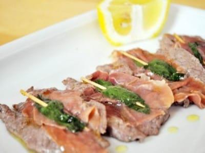サルティンボッカのレシピ!3種の材料で簡単イタリア料理