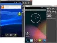 様々なバージョンのAndroidOSを起動できる