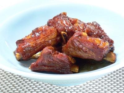 スペアリブをレンジで! ジューシーなタレ焼きスペアリブのレシピ