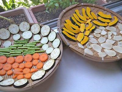干し野菜の作り方・レシピ