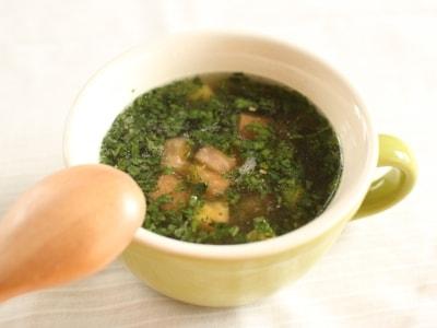 美容とダイエットに!モロヘイヤとトマトのスープ