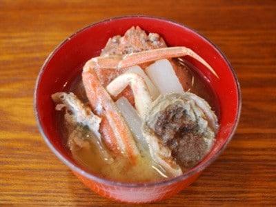 鳥取県の郷土料理「かに汁」の作り方