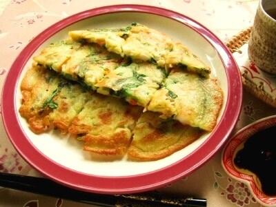 野菜たっぷりモチモチ食感! 海鮮チヂミのレシピ