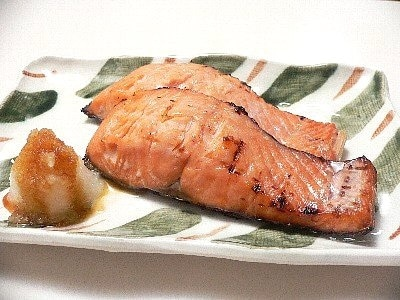 【庄内地方の郷土料理】 鮭のみそかす漬け