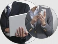 PCとスマートフォンでは画面サイズが大きく異なる