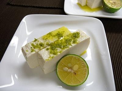 柚子の塩豆腐