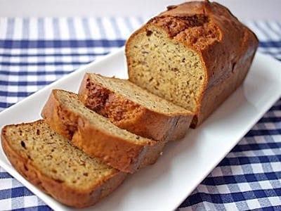 バナナブレッドのレシピ!バターなしでできる簡単ヘルシーな作り方