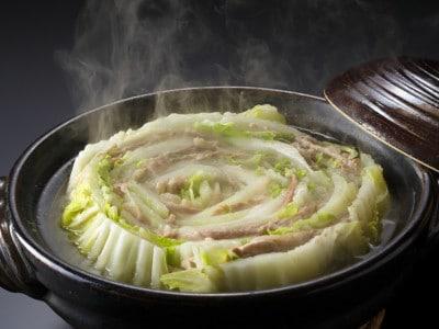 白菜と豚バラ肉のごま油鍋の人気レシピ・作り方