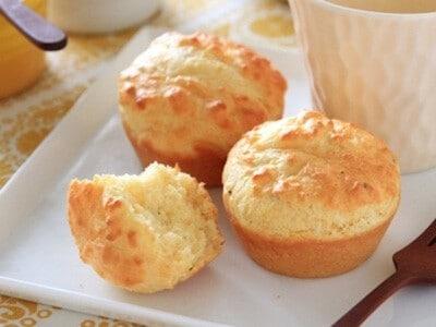 コーンクリーム缶でできるマフィン……パンがない朝にもおすすめ!