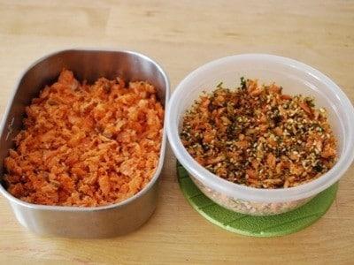 自家製鮭フレークのレシピとアレンジ生ふりかけの作り方