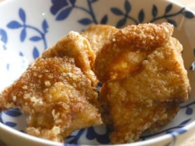 安い鶏肉でも臭みがなくおいしい鶏の唐揚げのレシピ