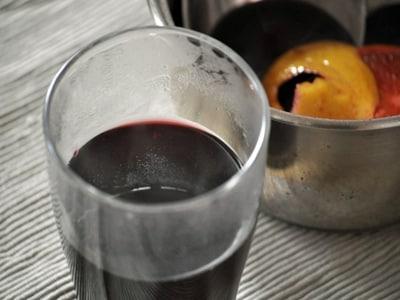 北アルプスのホットワイン ヴァンブリュレ