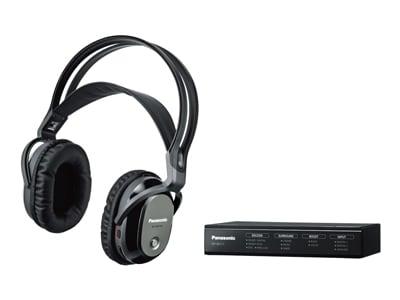 最大約30mの音声信号伝送が可能。増設用製品を購入すれば、4人まで同時に楽しむことができます