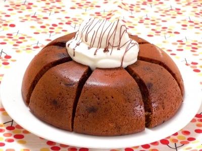 炊飯器で作る、カフェモカケーキ