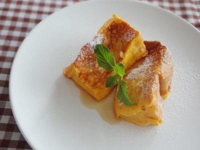アレンジ食パンレシピ……極上フレンチトーストの作り方