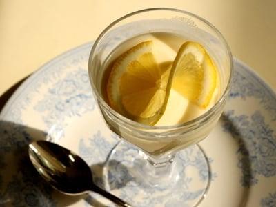 爽やかなレモンムース