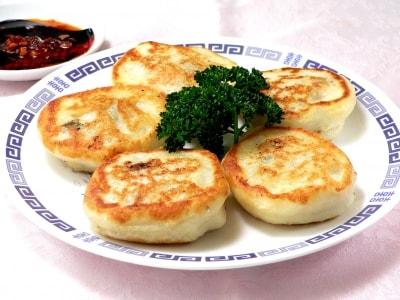 余ったご飯で作る中国風おやき 餡餅(シャンピン)