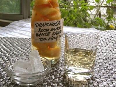 すっきり爽やか生姜酒の作り方