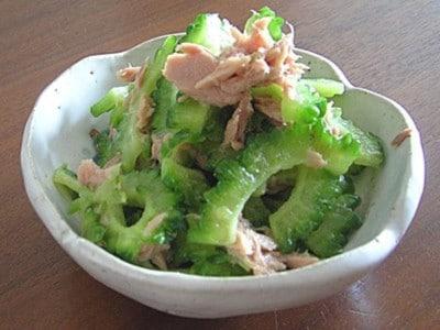 ゴーヤのツナ和えの作り方!おすすめ野菜レシピ