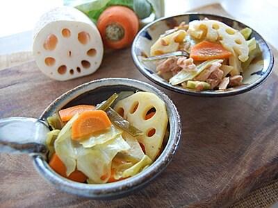 カラフル野菜のカレーピクルス