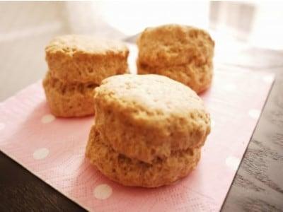 全粒粉スコーンの作り方!ざっくり食感、香ばしいお菓子レシピ