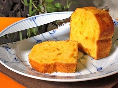 ワンボウルで簡単、かぼちゃのパウンドケーキ