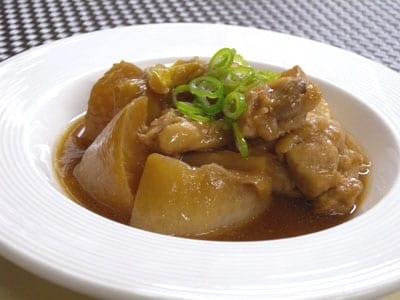 大根と鶏の中華風煮物