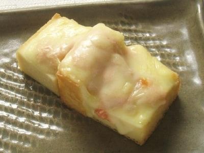 簡単お弁当レシピ!厚揚げのたらこチーズ. たらことチーズの厚揚げオーブン焼き