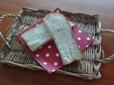 HBでバター、卵、ミルク不使用!ふわふわパン