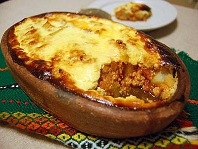 簡単で技あり!ポテトとひき肉の塩ヨーグルトグラタン