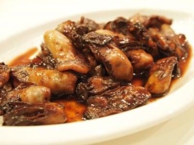 牡蠣の赤ワイン煮レシピ!