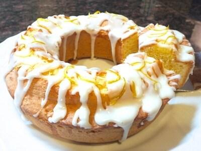 簡単爽やかな香りを楽しむ柚子ケーキ