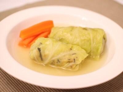 高野豆腐で作る、肉なしのヘルシーロールキャベツ