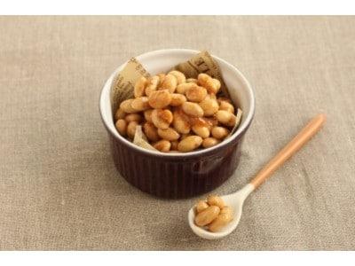 節分の余った炒り豆を活用! 豆キャラメルの作り方