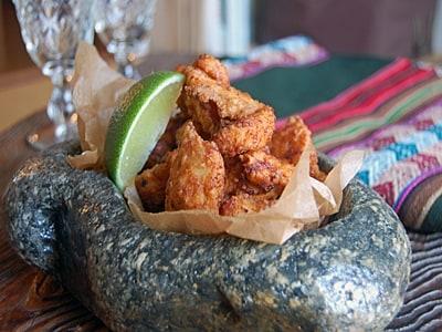 鶏胸肉のスパイシー塩ヨーグルト唐揚げ