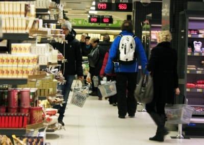 フィンランドのスーパー
