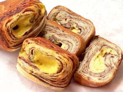 HBで、チョコとクリームの渦巻きパンを焼く!