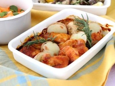 混ぜて焼くだけ! 鶏もも肉の簡単タンドリーチキンレシピ