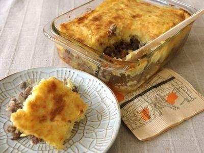 マッシュポテトとひき肉の重ね焼き!簡単おもてなしレシピ