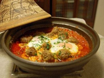 ケフタタジンのレシピ!トマトとミートボールの人気モロッコ料理