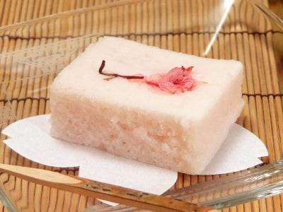 桜かるかんを電子レンジで簡単に作る!