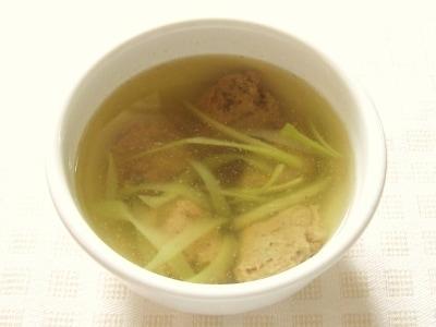 簡単にできる いわしのつみれスープ